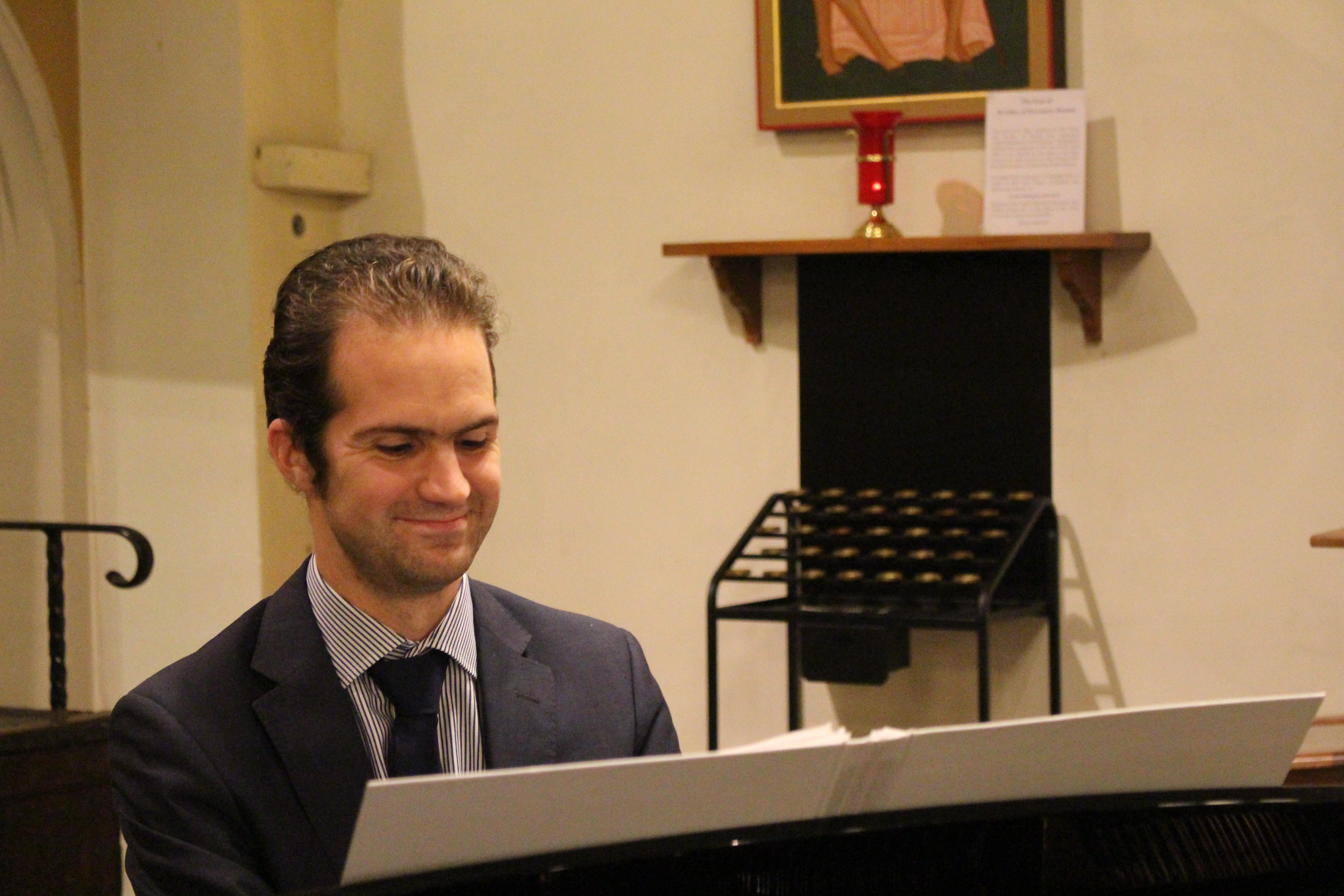 Ed, accompanist